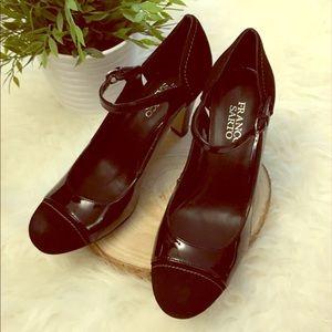 👠 Franco Sarto Ankle-Strap Heels - NIB - Size 8